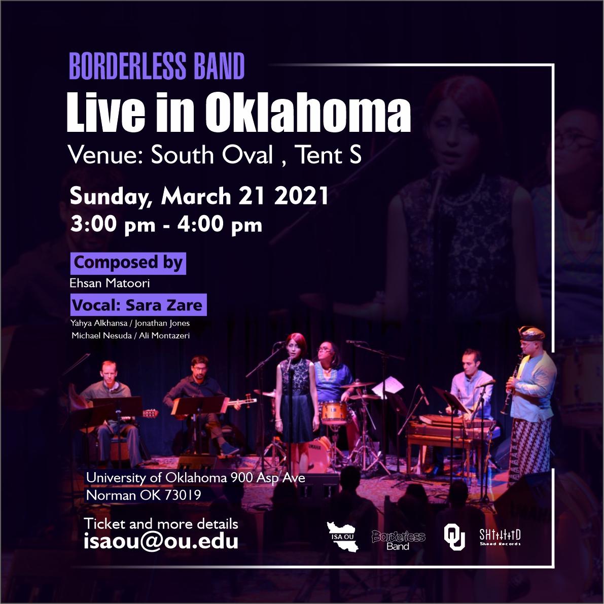 Borderless Band Live in Oklahoma